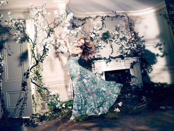 Ванесса Паради в рекламе H&M