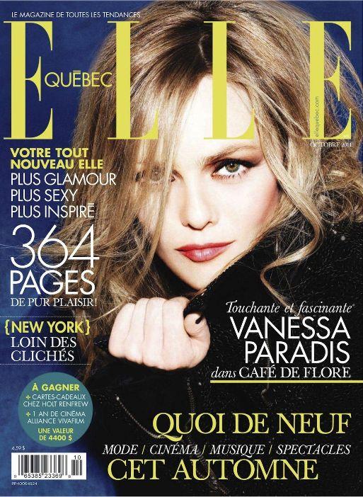 Ванесса Паради на обложках журналов