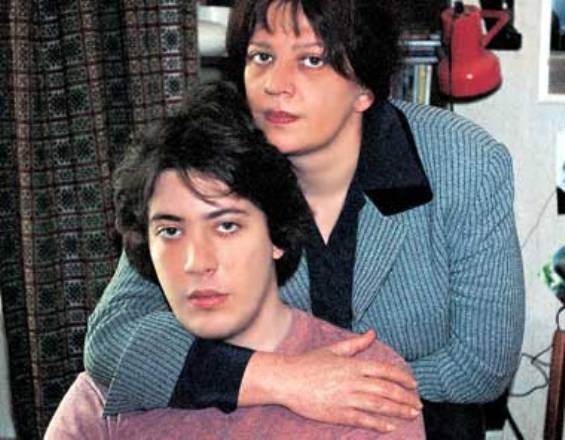 Артемий Лебедев с мамой Татьяной Никитичной Толстой