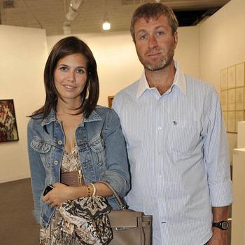 Роман Абрамович и Дарья Жукова