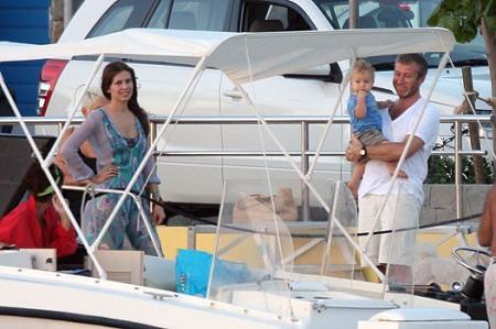 Роман Абрамович с семьей