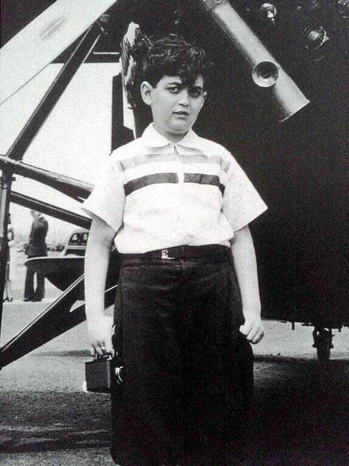 Стэнли Кубрик в детстве