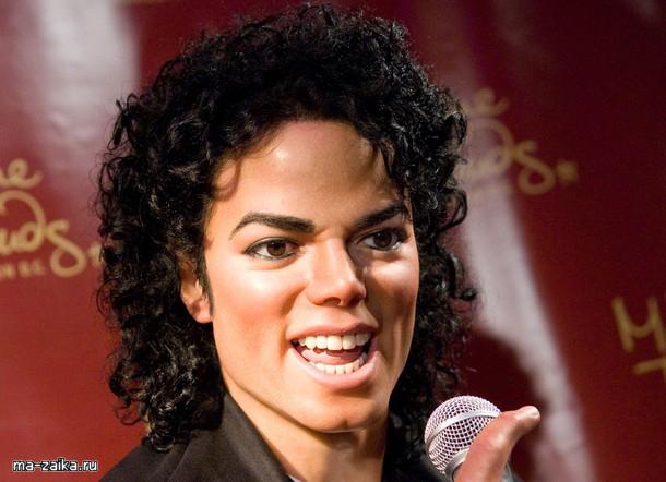 Фигура Майкла Джексона в музее восковых фигур мадам Тюссо в ...