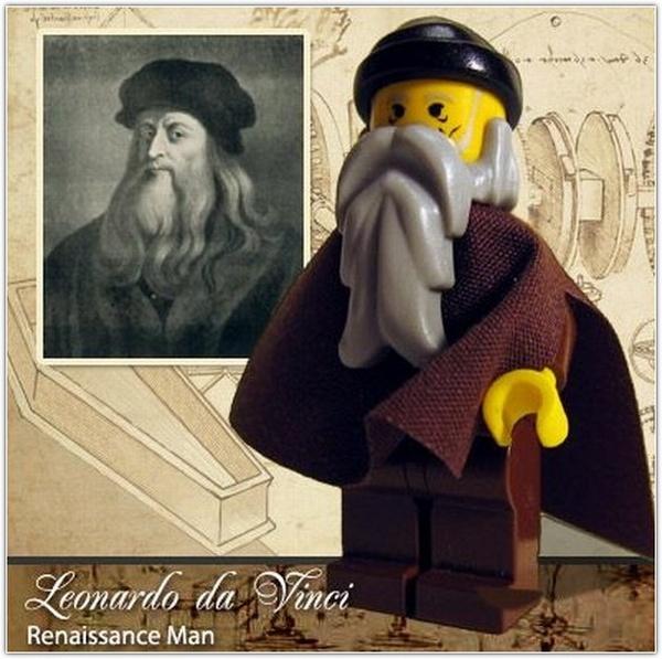 Знаменитости в стиле Lego