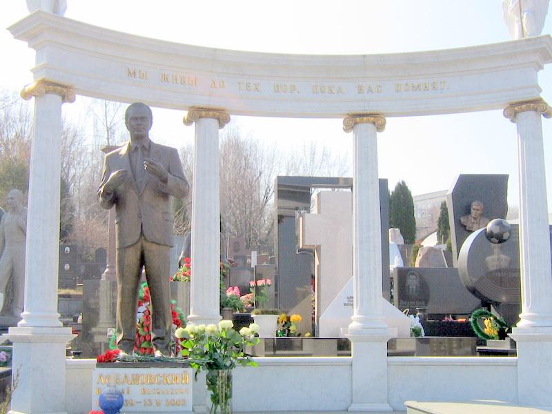Памятники Валерию Лобановскому