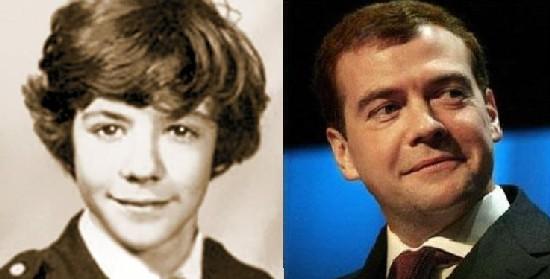 Дмитрий Медведев в детстве