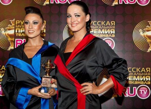 Никита на музыкальной премии телеканала РУ-ТВ
