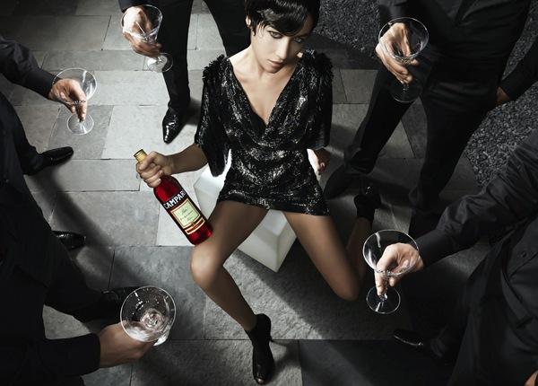 Ольга Куриленко – Campari Calendar 2010 год