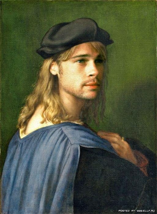 Брэд Питт в искусстве