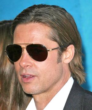 Брэд Питт и его солнцезащитные очки