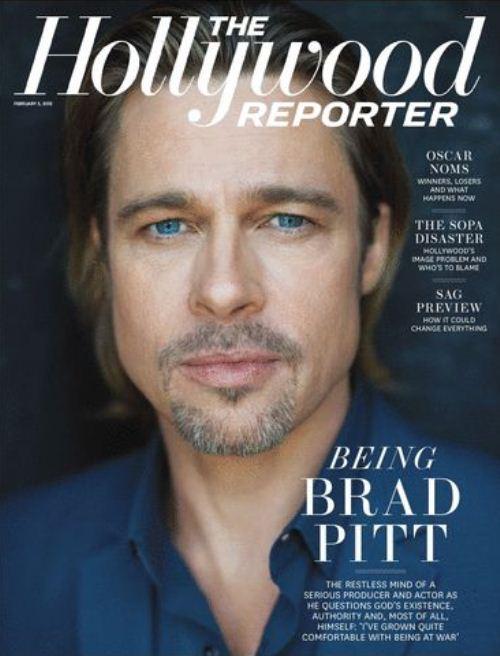 Брэд Питт на обложках журналов