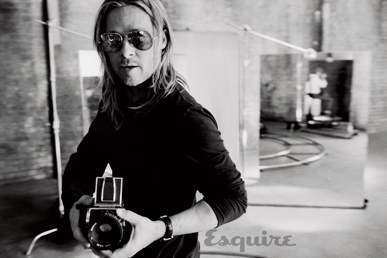 Брэд Питт для летнего выпуска Esquire Magazine
