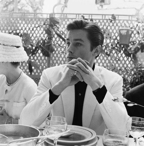 Ален Делон на Каннском фестивале, 1961 год