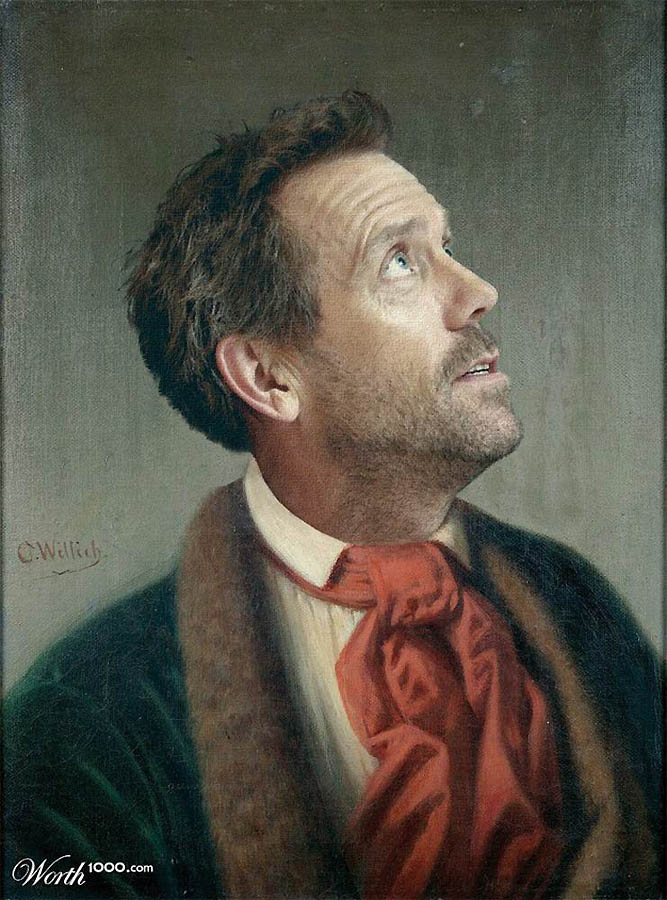 Хью Лори в искусстве