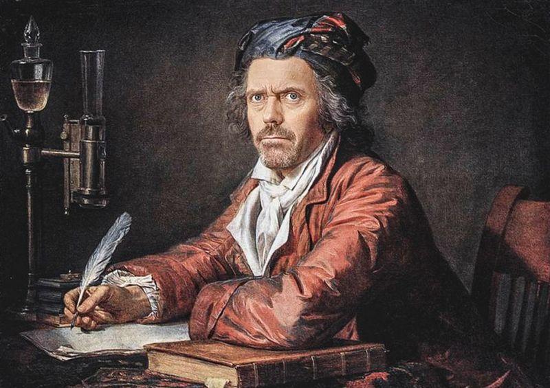 Знаменитости на классических полотнах