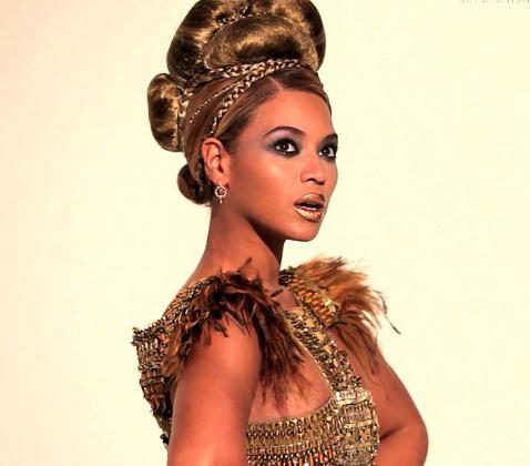 Бейонсе - темнокожая королева