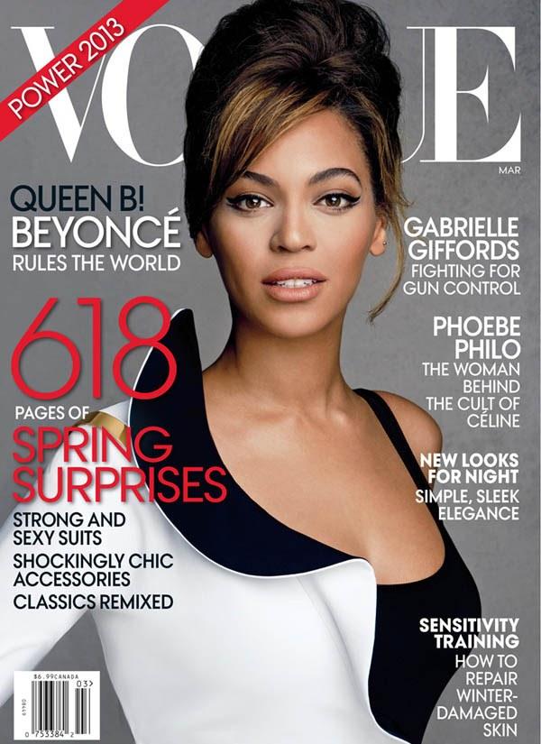 Бейонсе для Vogue US