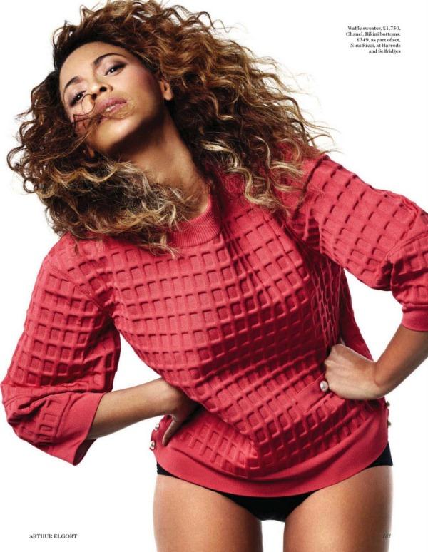 Бейонсе для Vogue UK