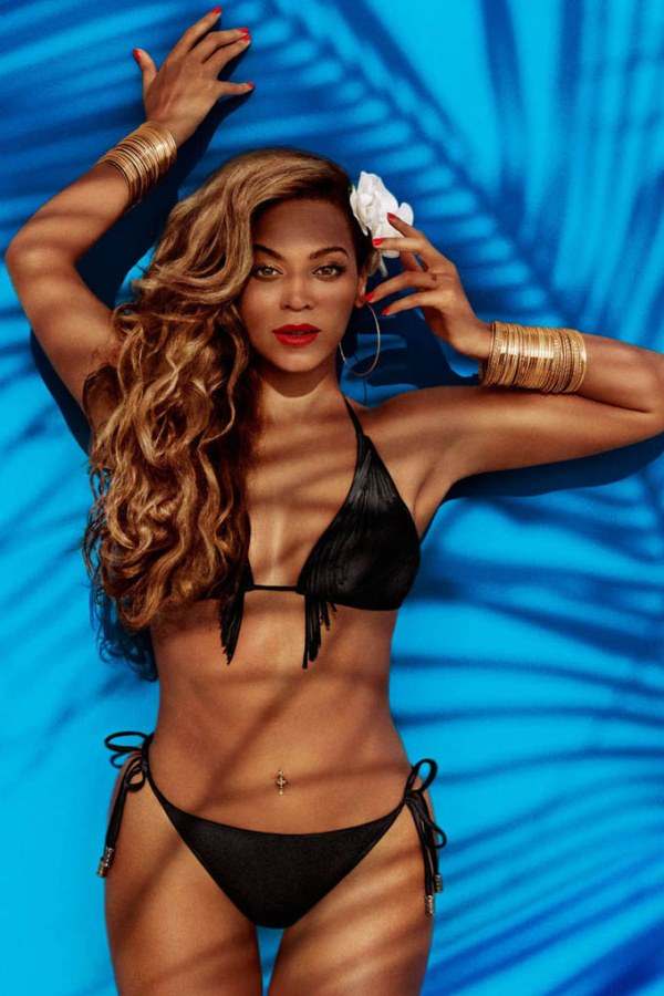Бейонсе в рекламной кампании H&M