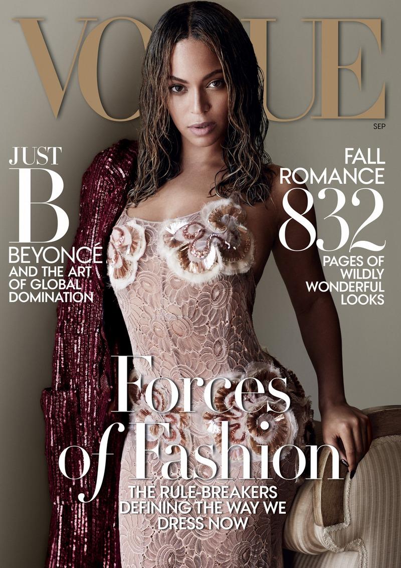 Бейонсе для Vogue US, сентябрь 2015