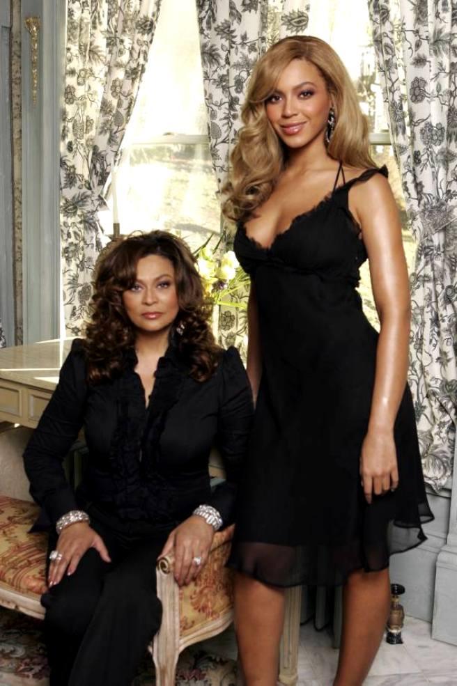 Бейонсе с мамой Тиной