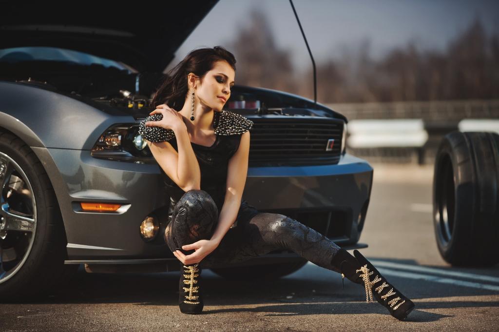 Фотосессия с автомобилем для девушек идеи