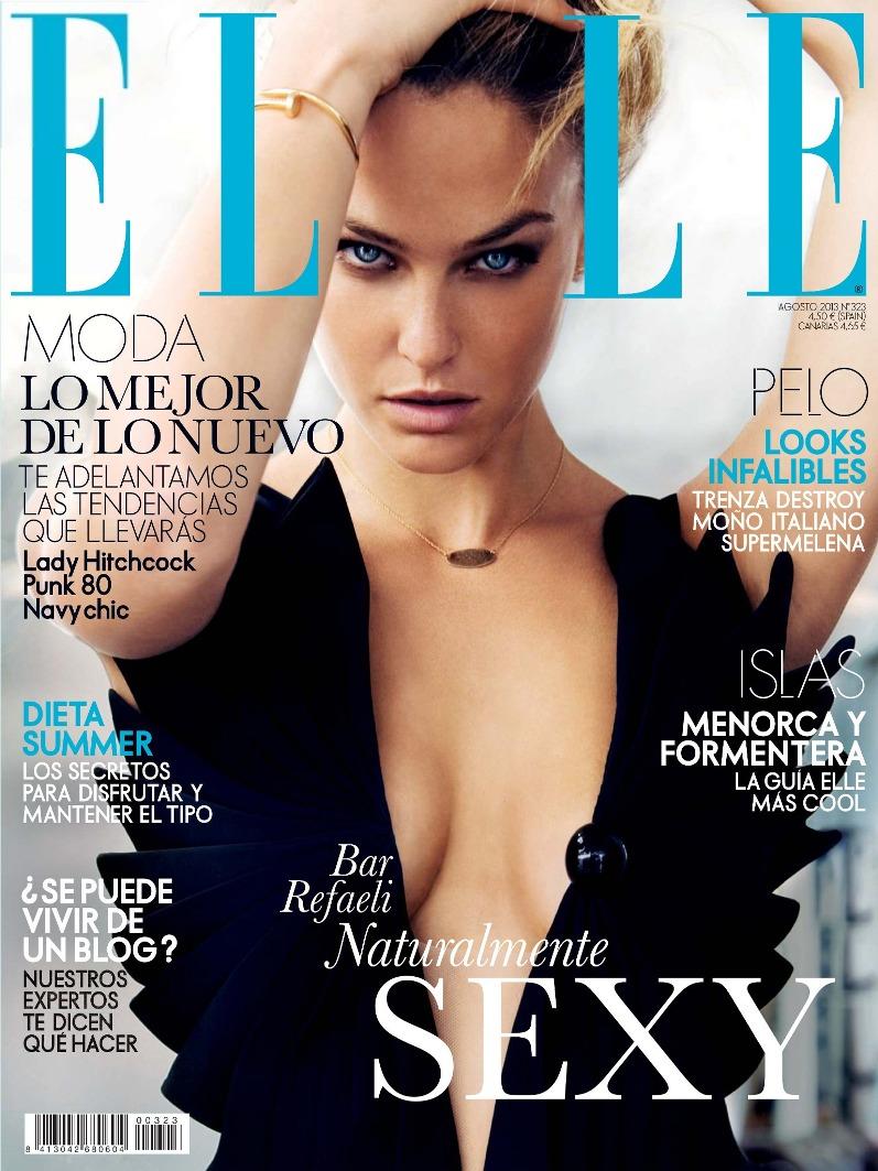 Бар Рафаэли для журнала Elle España, август 2013