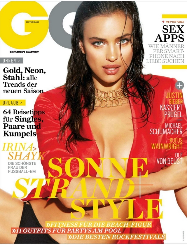 Ирина Шейк для GQ Germany