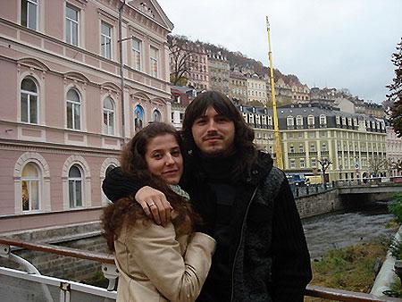 Сергей Притула и его жена