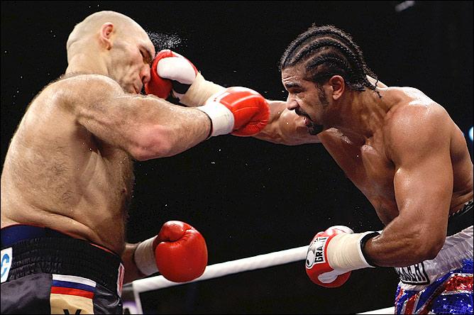 Николай Валуев на ринге