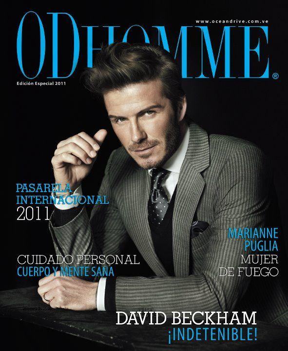 Дэвид Бекхэм на обложках журналов