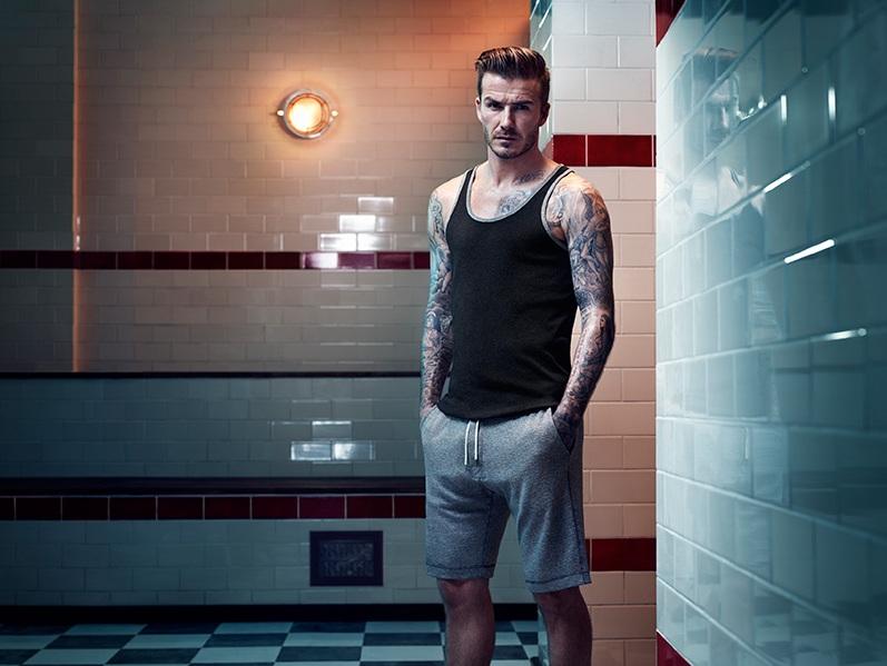 Дэвид Бекхэм в рекламной кампании нижнего белья H&M Осень\Зима13