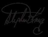 Автограф Стивена Кинга