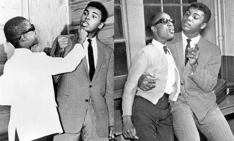 Стиви Уандер и Мухаммед Али, 1963 год