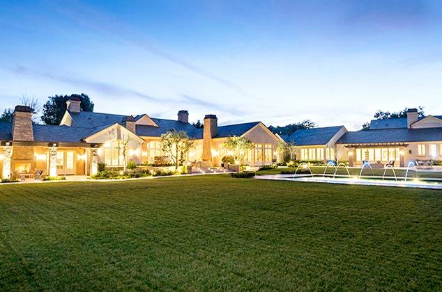 Дом Ким Кардашиан и Канье Уэста в Хидден-Хилс