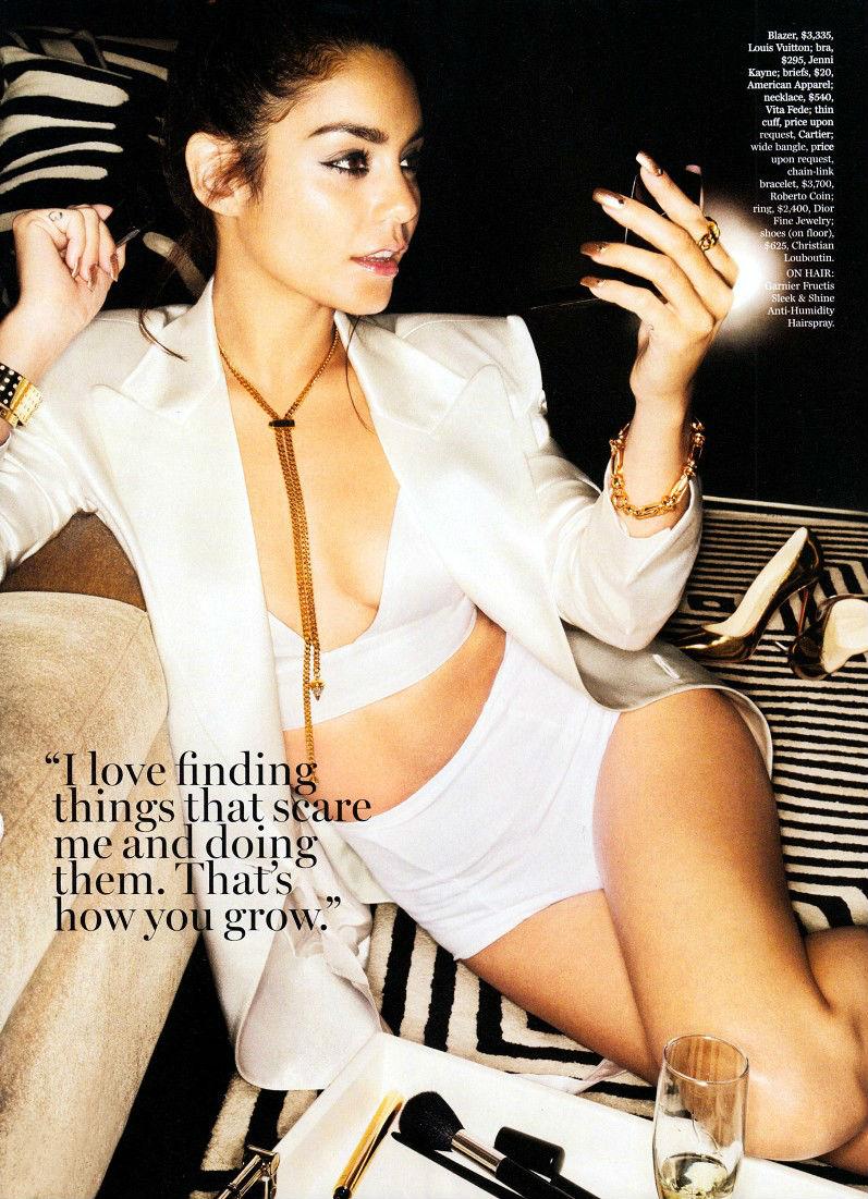 Ванесса Хадженс для журнала Marie Claire USA, октябрь 2013