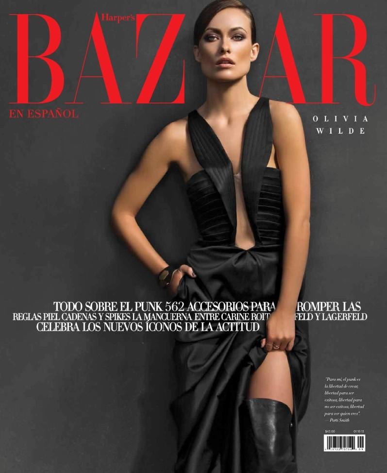 Оливия Уайлд для журнала Harper's Bazaar, сентябрь 2013