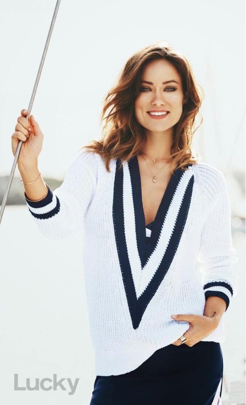 Оливия Уайлд в фотосессии Паолы Кудаки для Lucky Magazine, май 2014