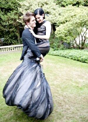 Фотосессия Кристен Стюарт и Роберта Паттинсона для журнала «Harper's Bazaar»