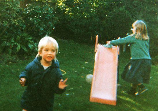 Роберт Паттинсон в детстве