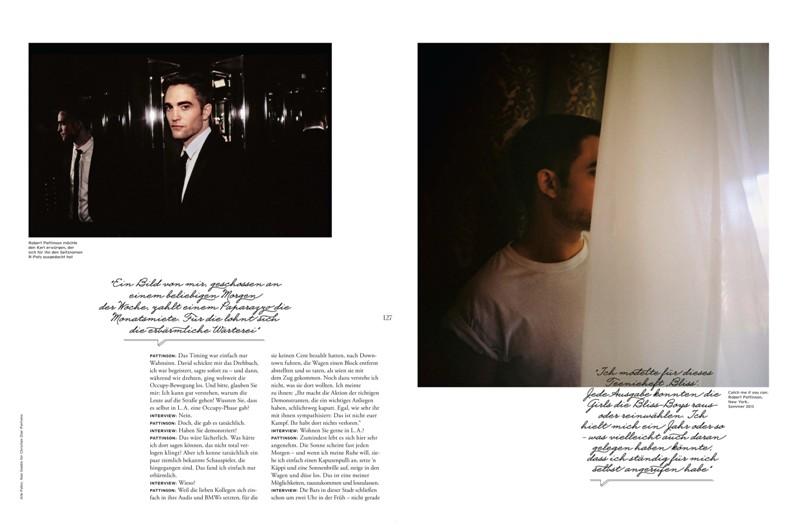 Роберт Паттинсон для журнала Interview, сентябрь 2013
