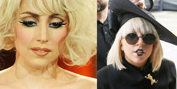 Макияж Леди Гага
