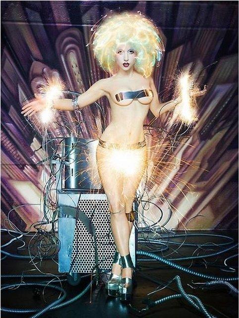 Леди Гага глазами Дэвида Лашапеля