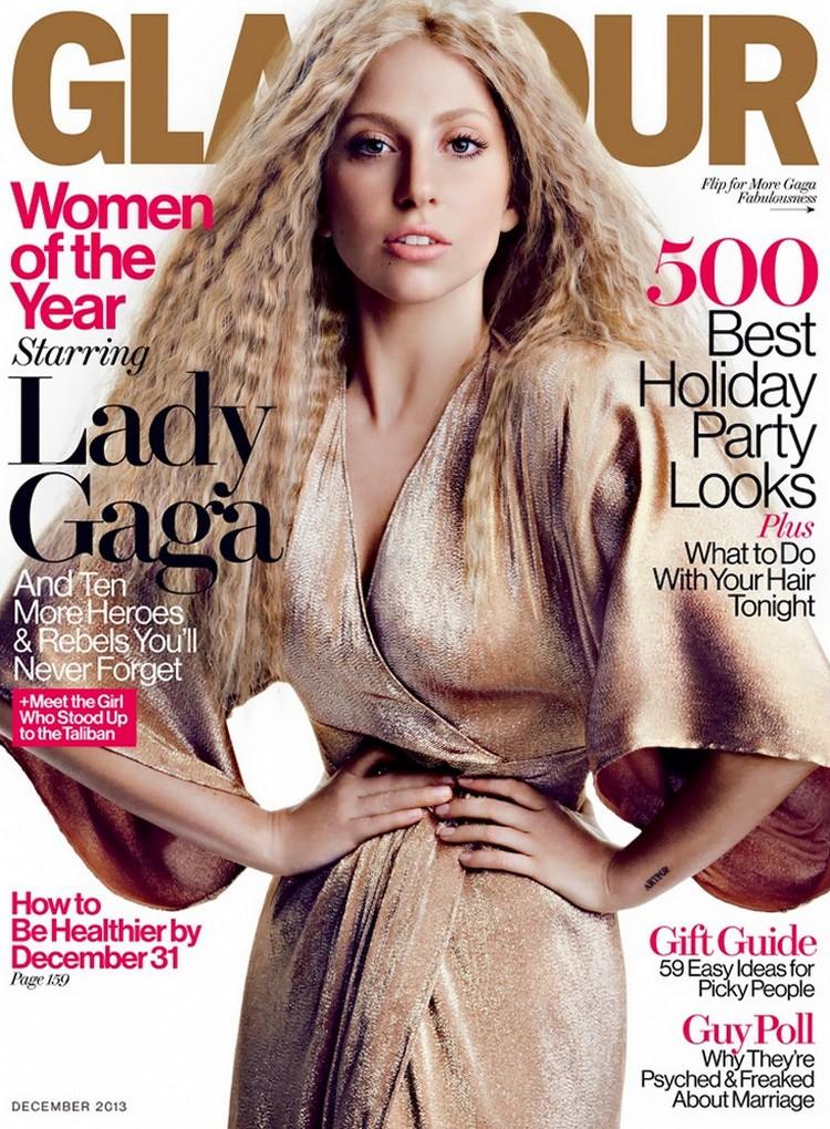 Леди ГаГа для журнала Glamour, декабрь 2013