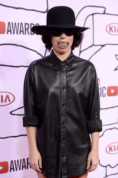 Леди ГаГа на вручении премии YouTube Music Awards 2013