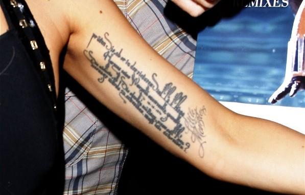 Татуировки Леди ГаГи
