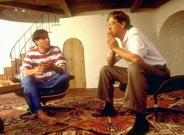 Стив Джобс и Билл Гейтс, 1991 год
