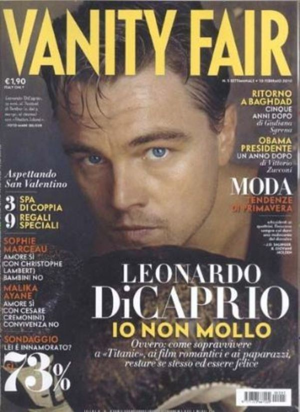 Леонардо дикаприо на обложках
