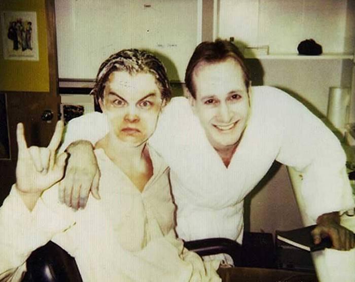 "Леонардо ДиКаприо на съемках фильма ""Титаник"", 1996 год"