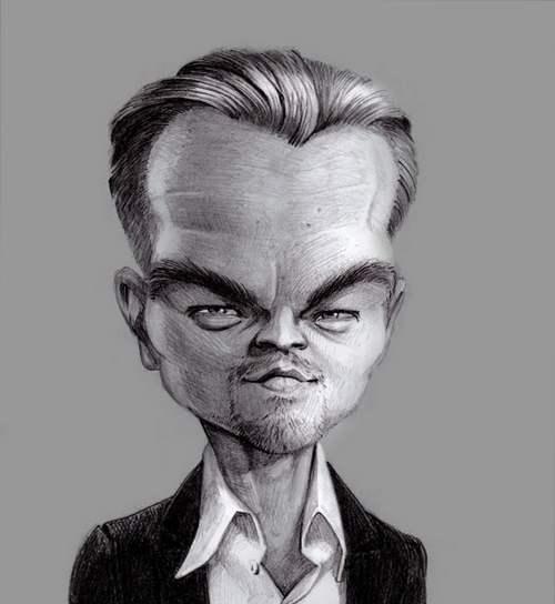 Карикатуры на Леонардо ДиКаприо